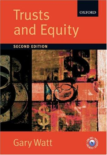 Download Trusts and equity