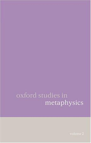 Oxford Studies in Metaphysics
