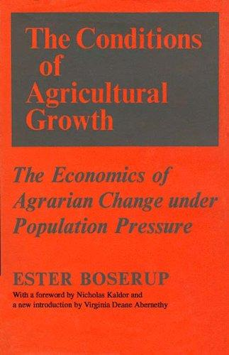 Download The conditions of agricultural growth