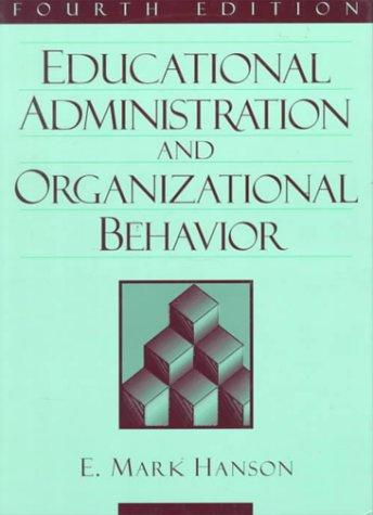 Download Educational administration and organizational behavior