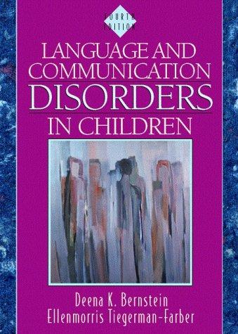 Download Language and communication disorders in children
