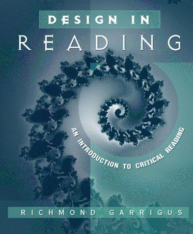 Download Design in reading