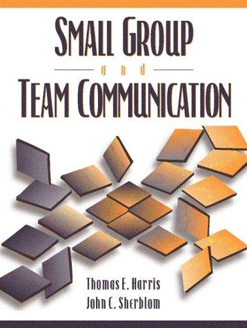 Download Small group and team communication