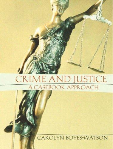 Download Crime and justice