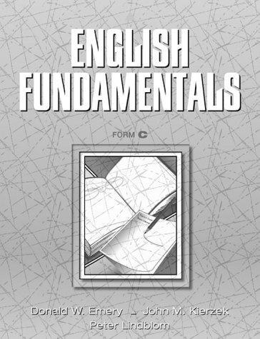 English fundamentals, form C