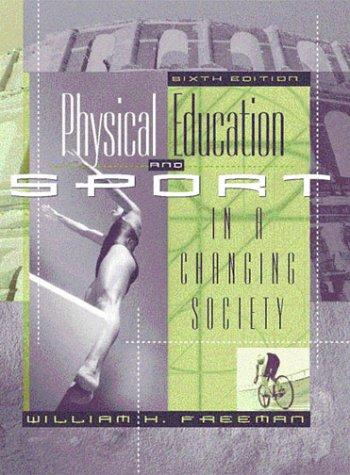 Download Physical education and sport in a changing society