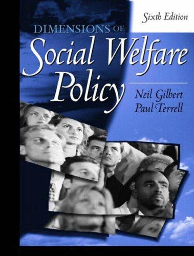 Download Dimensions of social welfare policy
