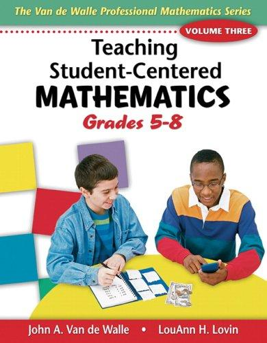 Teaching student-centered mathematics.