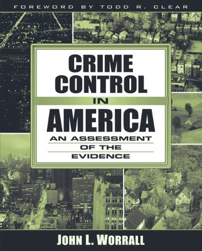 Download Crime control in America