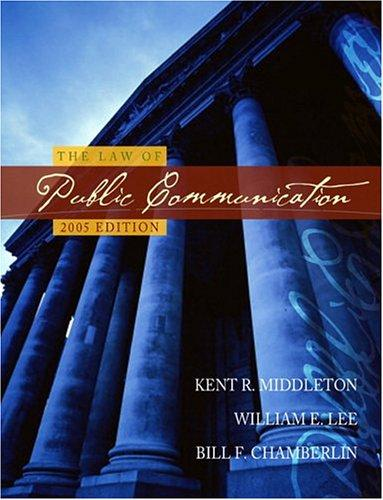 Download The law of public communication