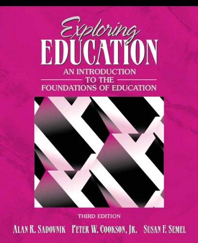 Download Exploring education
