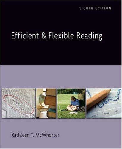 Download Efficient and Flexible Reading (with MyReadingLab) (8th Edition)