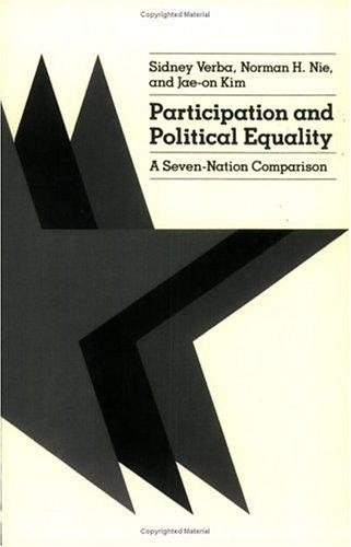 Participation and political equality