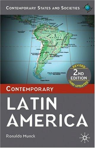 Download Contemporary Latin America (Contemporary States & Societies)