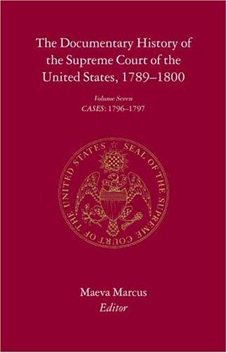 Download The Documentary History of the Supreme Court of the United States, 1789-1800