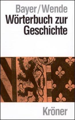 Wörterbuch zur Geschichte
