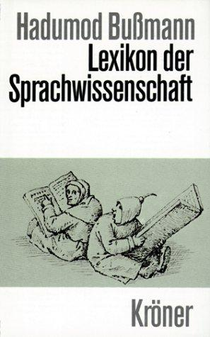 Download Lexikon der Sprachwissenschaft