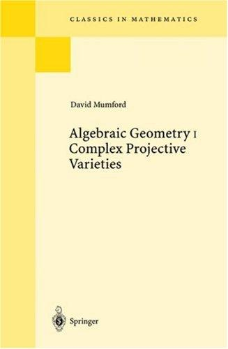 Download Algebraic geometry I