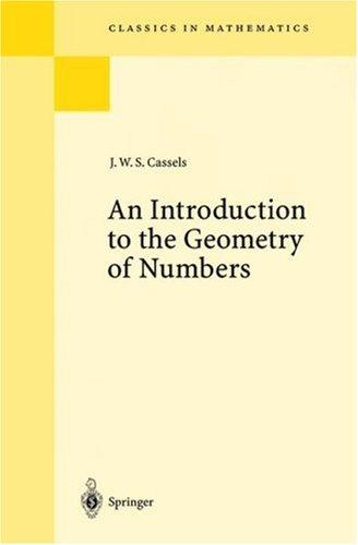 An introduction to the geometry of numbers