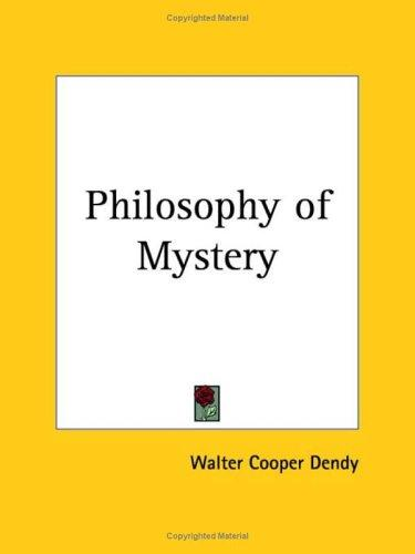 Download Philosophy of Mystery