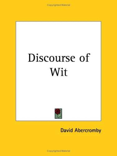 Download Discourse of Wit