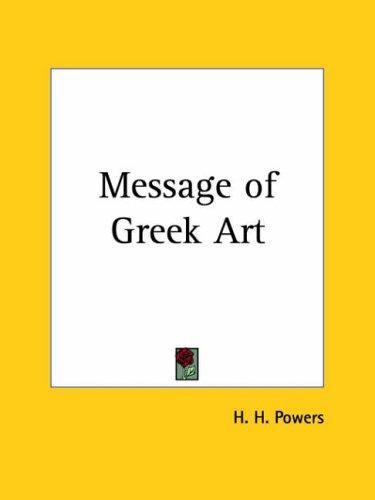 Download Message of Greek Art