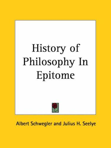 Download History of Philosophy In Epitome