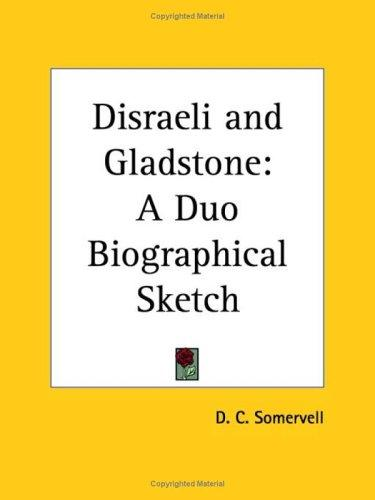 Download Disraeli and Gladstone