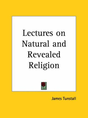 Lectures on Natural and Revealed Religion (Open Library)