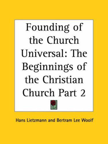 Download Founding of the Church Universal