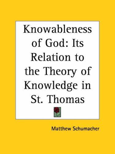 Download Knowableness of God
