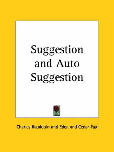 Suggestion and Auto Suggestion