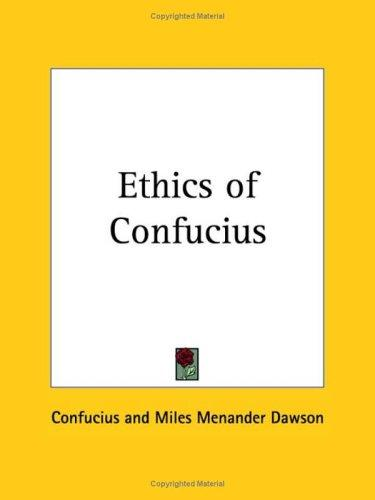 Download Ethics of Confucius