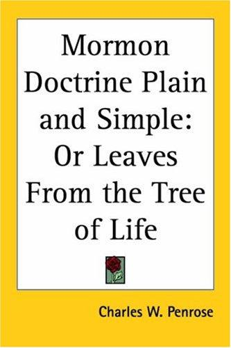 Download Mormon Doctrine Plain and Simple