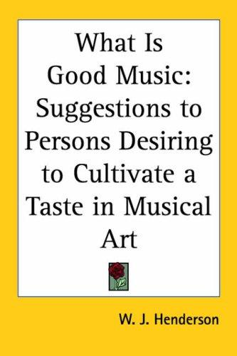 Download What Is Good Music