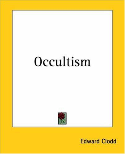 Download Occultism