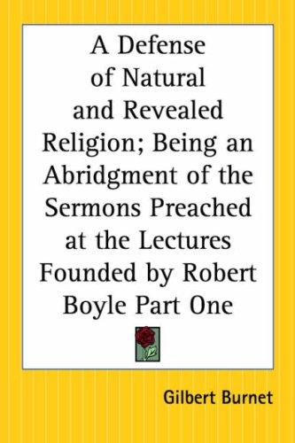 Download A Defense Of Natural And Revealed Religion