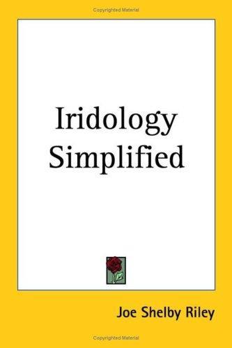 Download Iridology Simplified