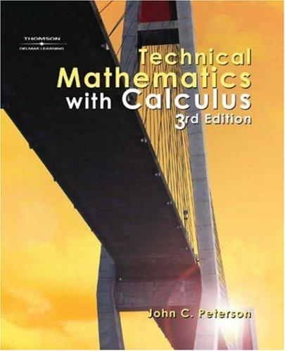 Download Technical mathematics with calculus