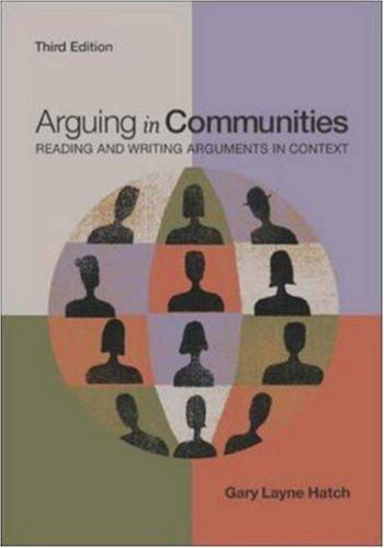 Arguing in communities