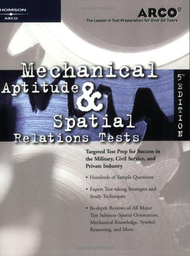 Download Mechanical aptitude & spatial relations tests