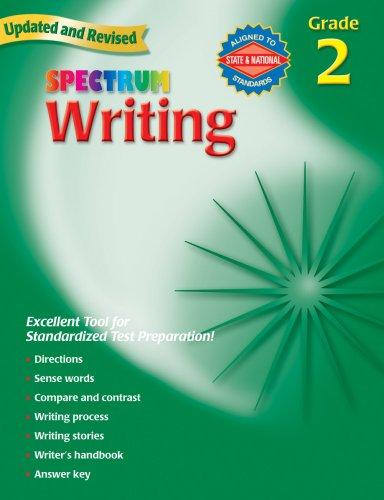 Spectrum Writing, Grade 2 (Spectrum)