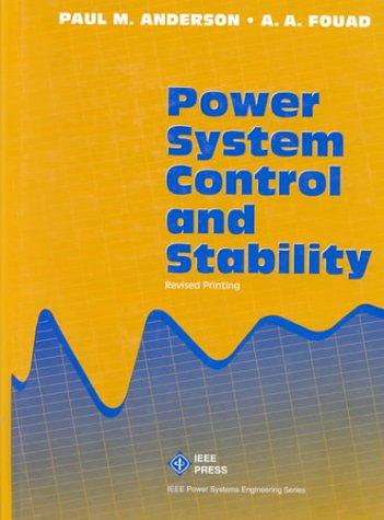 Download Power system control and stability