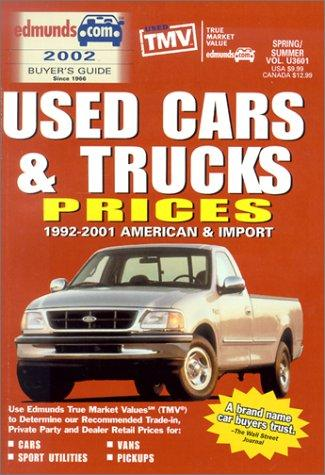 Download Edmund's Used Cars & Trucks Prices: 1992-2001 American & Import