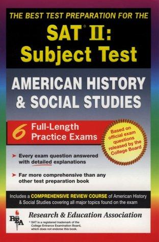 The best test preparation for the SAT II, subject test