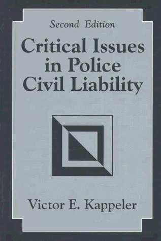 Download Critical issues in police civil liability
