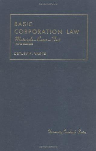 Basic corporation law