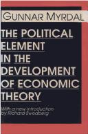 The Political Element in the Development of Economic Theory.