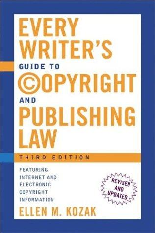 Download Every writer's guide to copyright and publishing law