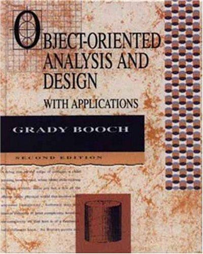 Download Object-oriented analysis and design with applications